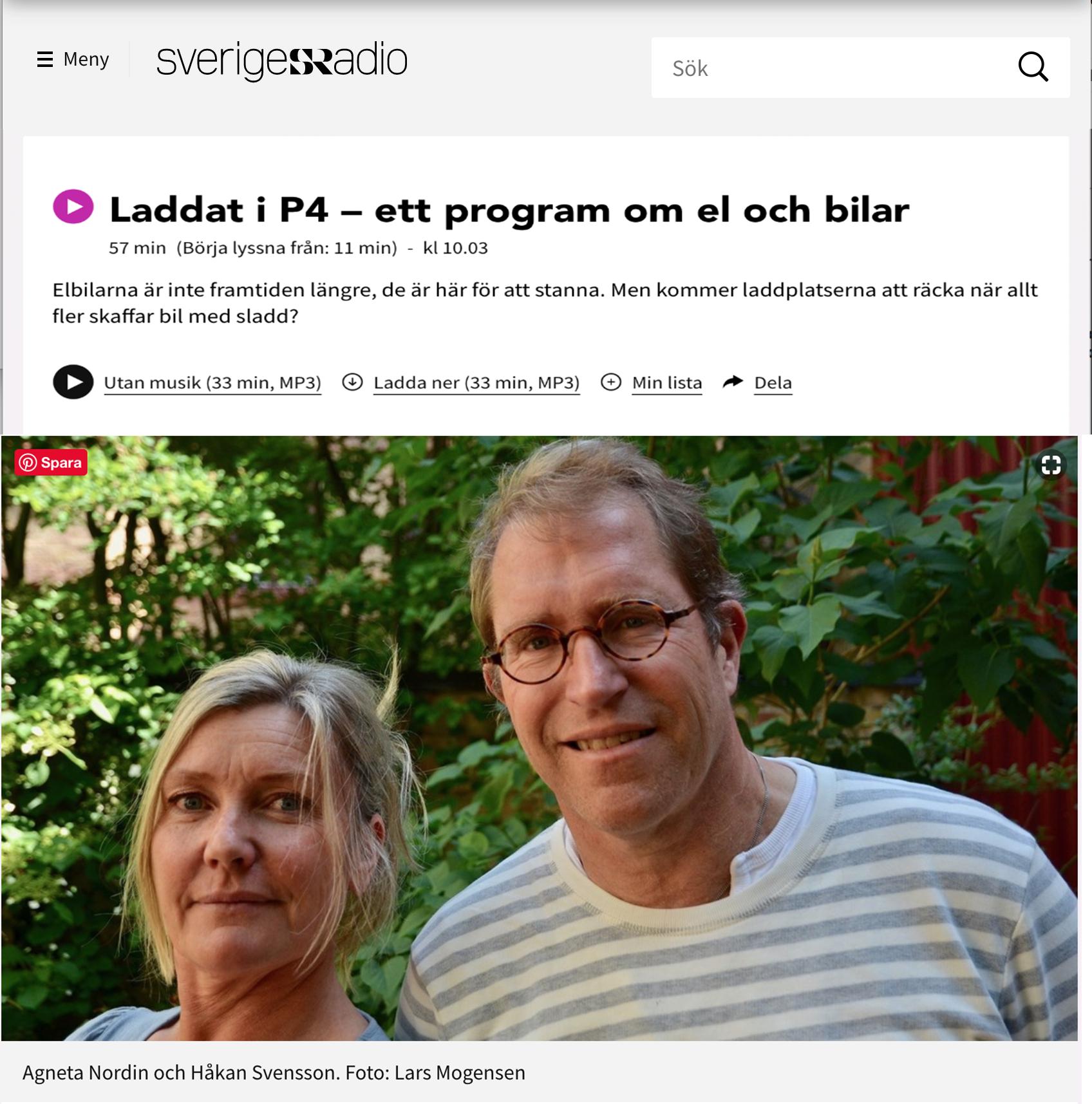 Sveriges Radio Laddat i P4