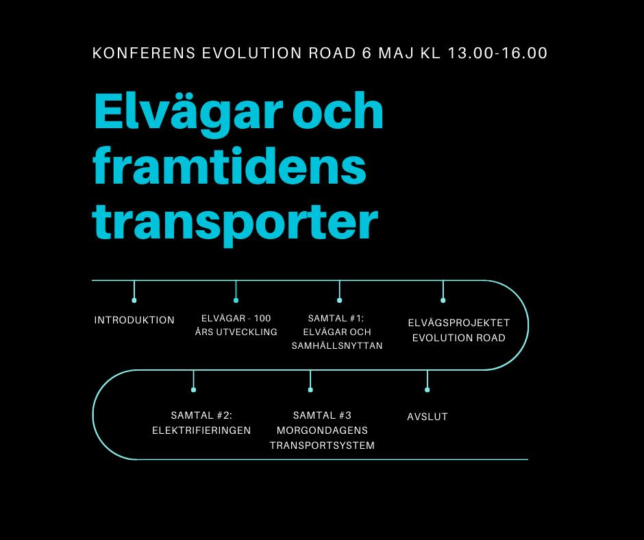 Konferens elvägar och framtidens transporter